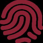fingerprint-burgundy