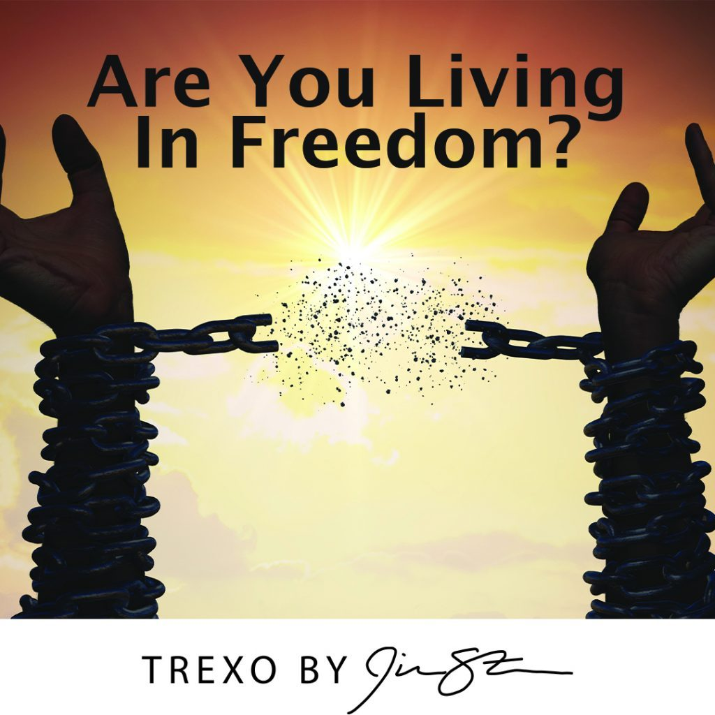 Are you living in freedom?