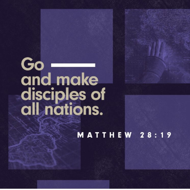 investing in the Great Commission - Image from YouVersion Daily Verse