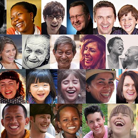 Laughter heals.